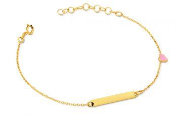 złote bransoletki damskie próba 585