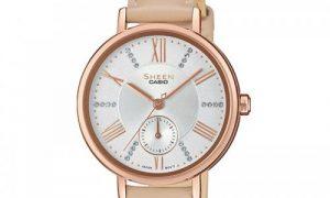 elegancki zegarek damski Casio Sheen